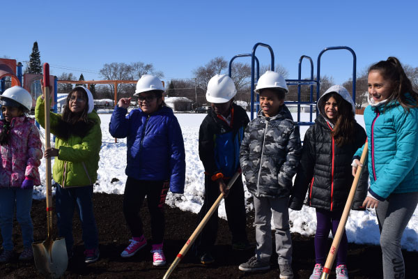 Kids with Shovels